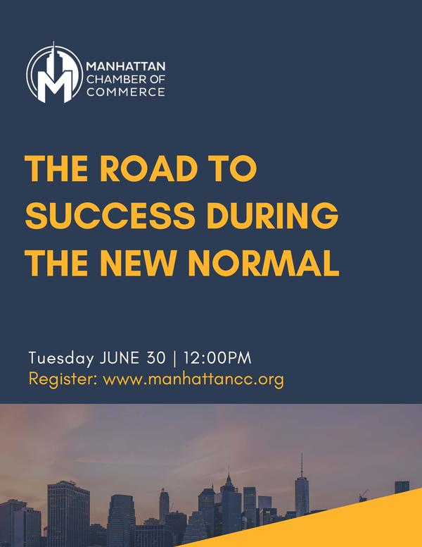 The Road To Success During The New Normal