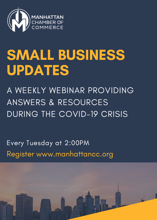 Weekly Small Business Update: Federal Emergency Financial Aid Programs