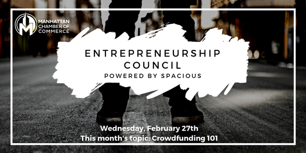 Entrepreneurship Council powered by Spacious: Crowdfunding 101