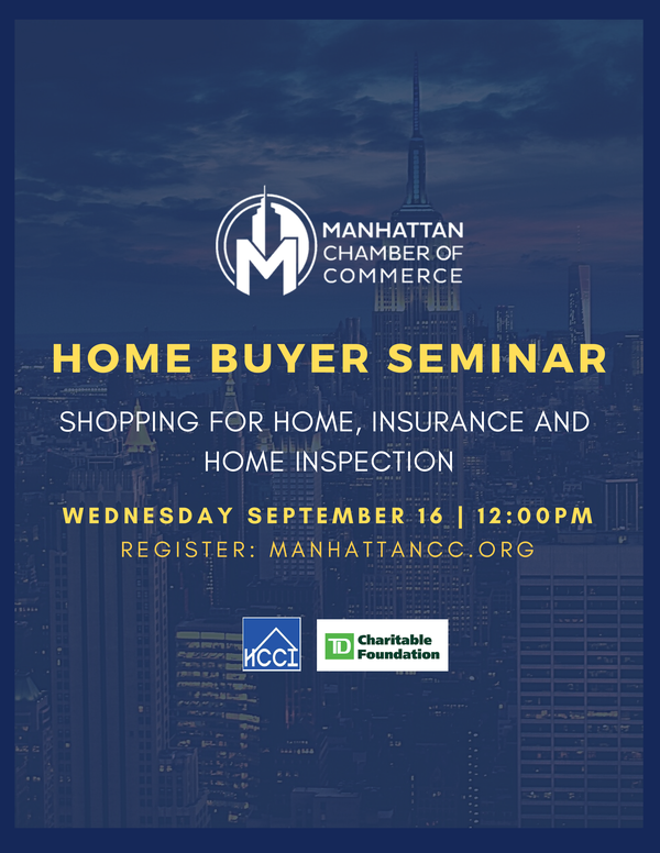 Home Buyer Seminar: Shopping for Home, Insurance and Home Inspection