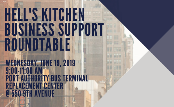Hell's Kitchen Business Support Roundtable