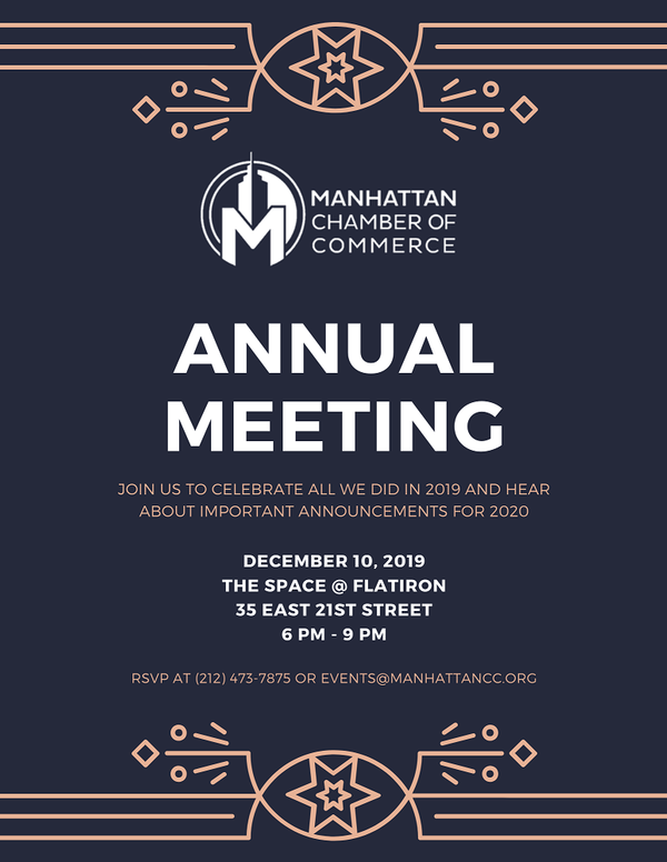 2019 Annual Open Meeting