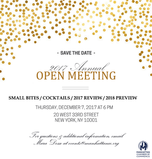 2017 Annual Open Meeting
