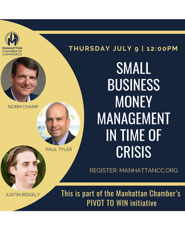 Small Business Money Management in Times of Crisis