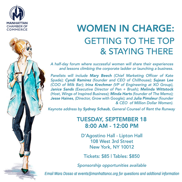 Women in Charge: Getting to the Top & Staying There