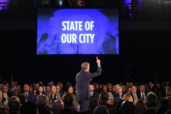 Chamber issues statement on Mayor de Blasio's State of the City Speech